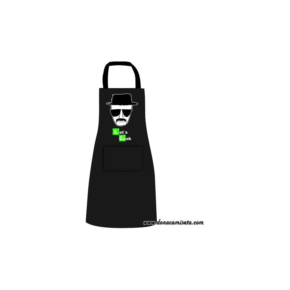 Delantal Let´s Cook (Breaking Bad)