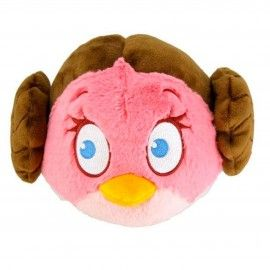 Peluche Leia Angry Birds Star Wars 13cm