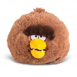 Peluche Chewbacca Angry Birds Star Wars 13cm