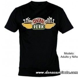 Camiseta Central Perk (Friends)