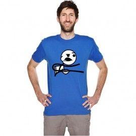 Camiseta MC Unisex Memes Cereal Guy