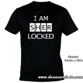 Camiseta mc I am Sherlocked