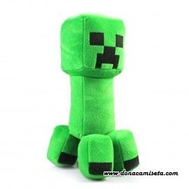 Peluche Creeper de Minecraft