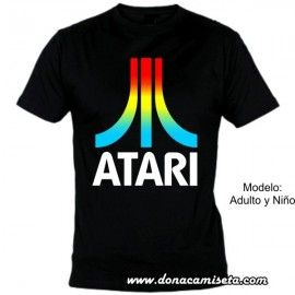Camiseta mc Atari colores