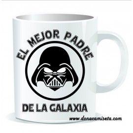 Taza Darth Vader Mejor padre Galaxia