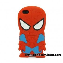 Funda Iphone 4 y 5 Spiderman