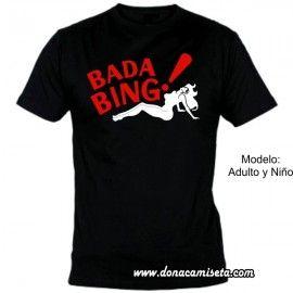Camiseta MC Bada Bing (Los Soprano)