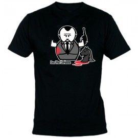 Camiseta MC Unisex El Padrino Muñeco
