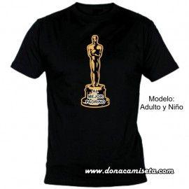 Camiseta Diseño Oscar Personalizada