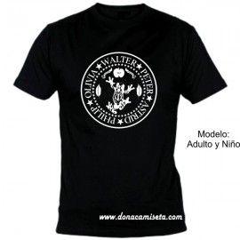 Camiseta Fringe nombres círculo rana