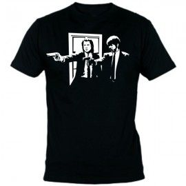 Camiseta MC Unisex Pulp Fiction