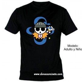 Camiseta MC Calavera Nami (One Piece)