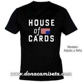 Camiseta mc House of Cards Bandera
