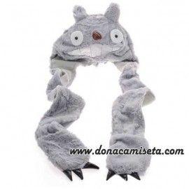 Gorro bufanda con guantes Totoro