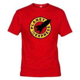 Camiseta MC Unisex Futurama Planet Express