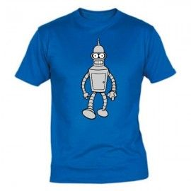 Camiseta MC Unisex Futurama Bender