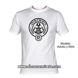 Camiseta District 12 ( Los Juegos del Hambre)