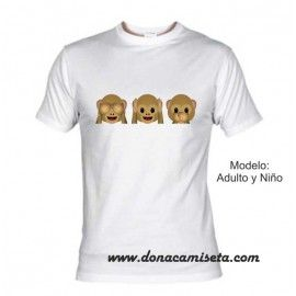 Camiseta MC Monos Whatsapp