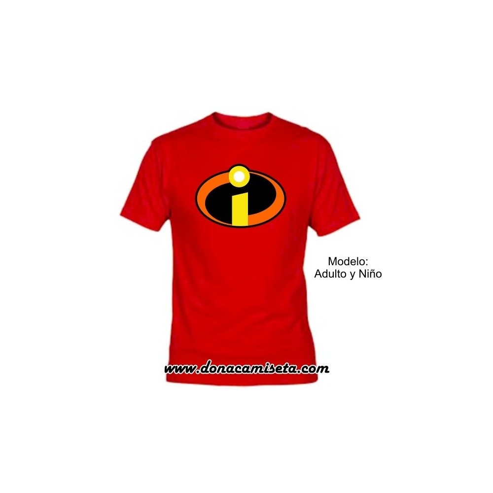 Camiseta MC Los Increibles