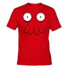 Camiseta MC Unisex Futurama Zoidberg
