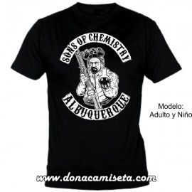 Camiseta MC Heisenberg Sons of Chemistry