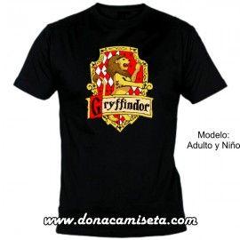 Camiseta MC Gryffindor escudo