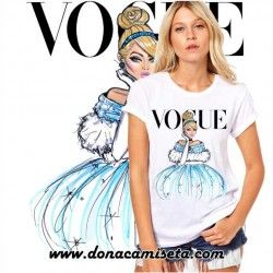 Camiseta Cenicienta Vogue