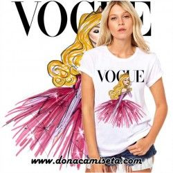 Camiseta Bella Durmiente Vogue