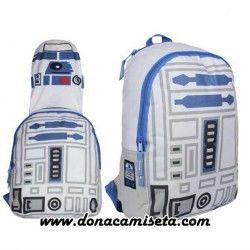 Mochila capucha R2D2 (Star Wars)
