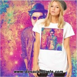 Camiseta Charles Chaplin colores