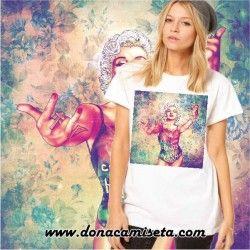 Camiseta Madonna colores