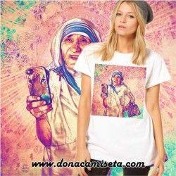 Camiseta Santa Teresa colores