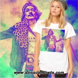 Camiseta Dali colores