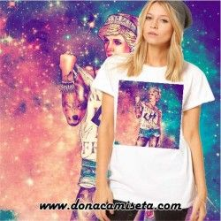 Camiseta Lady Di colores