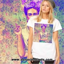 Camiseta Frida colores