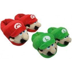 Zapatillas Super Mario y Luigi Cerradas