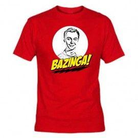 Camiseta MC Unisex Bazinga Sheldon