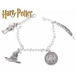 Pulsera Harry Potter 4 colgantes