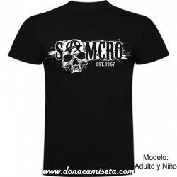 Camiseta Samcro Calavera