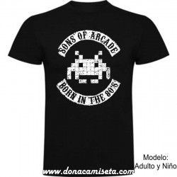 Camiseta Sons of Arcade
