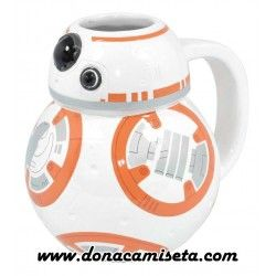 Taza Star Wars BB-8 3D Episodio VIII