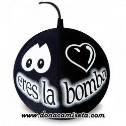 """Cojin antiestres Bomba  """"Eres la bomba"""""""