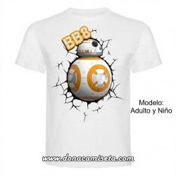 Camiseta BB8 (Star Wars)