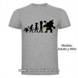 Camiseta Vegeta Evolution