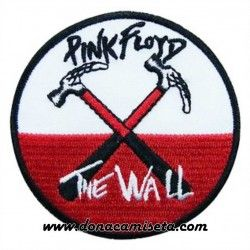 Parche Bordado Pink Floyd The Wall
