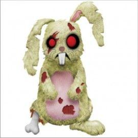 Peluche Mascota Zombie Creepy Cuddlers Conejo 20cm