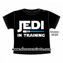 Camiseta Jedi in training Bebé / Niño