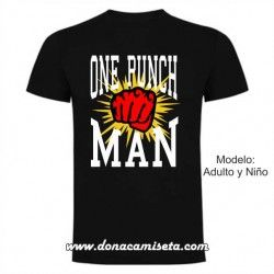 Camiseta Puño One Punch Man