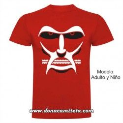 Camiseta Cara Titan Colosal (Attack on Titan)