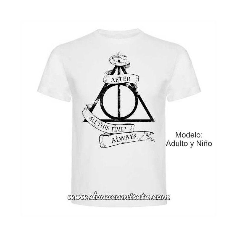 c4e69e519 Camiseta Harry Potter Always